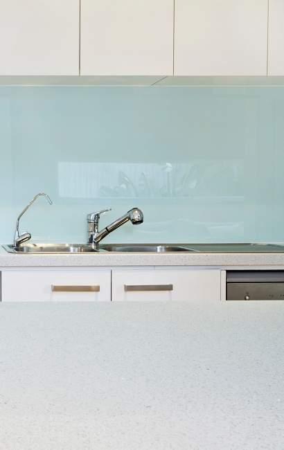 glass splashback Australia